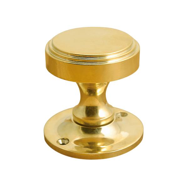 ゴーリキアイランド 真鍮 ドアノブ 金色 DN3 trapezoid型【 アンティーク ブラス 雑貨】 [620853]