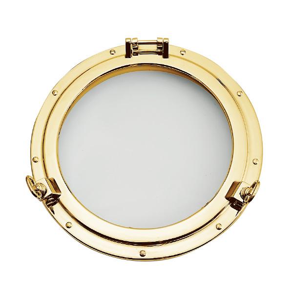 ゴーリキアイランド 真鍮 丸窓 金色 C47型【 アンティーク ブラス 雑貨】 [620895]