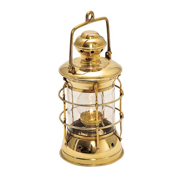 ゴーリキアイランド 真鍮 オイルランプ 金色 ネルソンランプS型【 アンティーク ブラス 雑貨】 [700090]