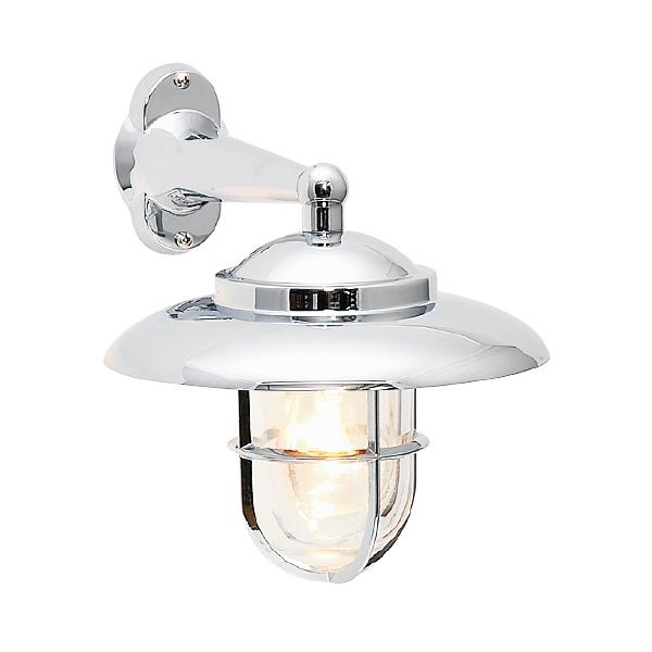 ゴーリキアイランド 真鍮 ブラケットランプ(クリアガラス&普通球)BR2060 CL 銀色【 アンティーク ブラス 雑貨】 [700152]