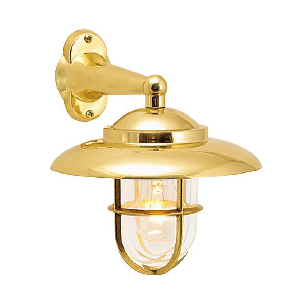 ゴーリキアイランド 真鍮 ブラケットランプ(クリアガラス&普通球)BR2060 CL 金色【 アンティーク ブラス 雑貨】 [700163]