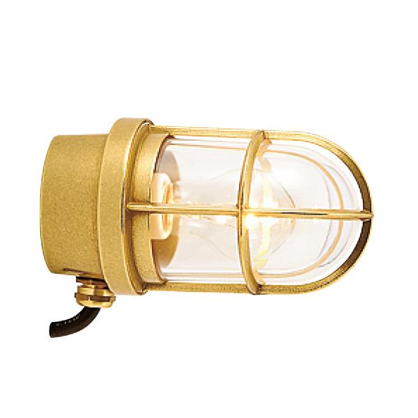 ゴーリキアイランド 真鍮 ウォールライト(クリアガラス&普通球)BH2296 CL 金色【 アンティーク ブラス 雑貨】 [700193]