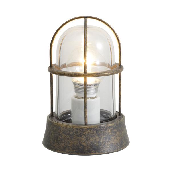 ゴーリキアイランド 真鍮 マリンランプ(クリアガラス&LEDランプ)BH1000 CL LE 古色【 アンティーク ブラス 雑貨】 [700203]
