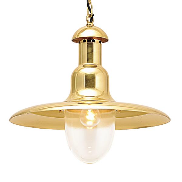 ゴーリキアイランド 真鍮 ペンダントライト(クリアガラス&普通球)P2193 CL 金色【 アンティーク ブラス 雑貨】 [700382]