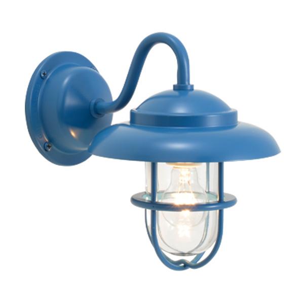 ゴーリキアイランド 真鍮 ブラケットランプ(クリアガラス&普通球)BR1760 CL パシフィックブルー【 アンティーク ブラス 雑貨】 [700468]