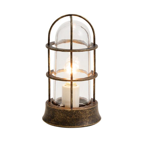ゴーリキアイランド 真鍮 マリンランプ(クリアガラス&普通球)BH1000SLIM CL 古色【 アンティーク ブラス 雑貨】 [700545]