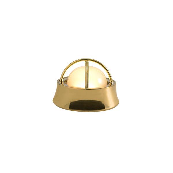 ゴーリキアイランド 真鍮 マリンランプ(くもりガラス&LEDランプ)BH1000MINI LOW FR LE 室内用 金色 [700590]