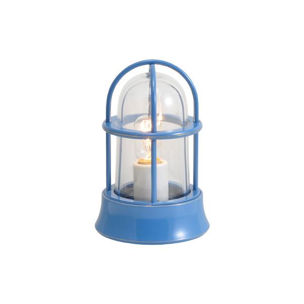 ゴーリキアイランド 真鍮 マリンランプ(クリアガラス&普通球)BH1000MINI CL パシフィックブルー【 アンティーク ブラス 雑貨】 [750018]