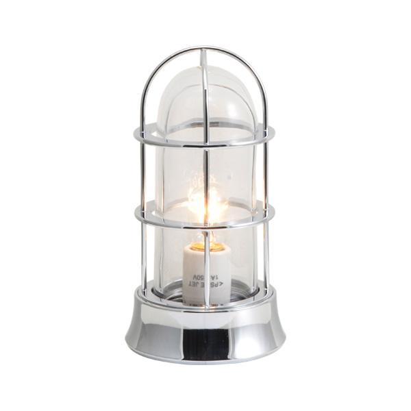 ゴーリキアイランド 真鍮 マリンランプ(クリアガラス&普通球)BH1000SLIM CL 銀色【 アンティーク ブラス 雑貨】 [750037]