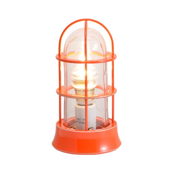 ゴーリキアイランド 真鍮 マリンランプ(クリアガラス&LEDランプ)BH1000SLIM CL LE オレンジ【 アンティーク ブラス 雑貨】 [750050]