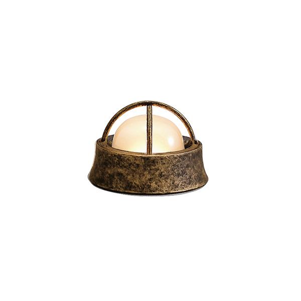 ゴーリキアイランド 真鍮 マリンランプ(くもりガラス&LEDランプ)BH1000MINI LOW FR LE 室内用 古色 [750065]