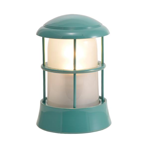 ゴーリキアイランド 真鍮 マリンランプ(くもりガラス&LEDランプ)BH1010 FR LE メイグリーン【 アンティーク ブラス 雑貨】 [750093]