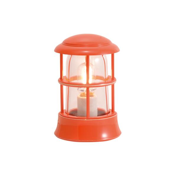 ゴーリキアイランド 真鍮 マリンランプ(クリアガラス&LEDランプ)BH1010MINI CL LE オレンジ【 アンティーク ブラス 雑貨】 [750112]
