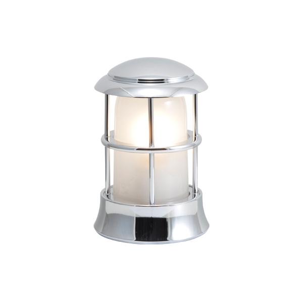 ゴーリキアイランド 真鍮 マリンランプ(くもりガラス&LEDランプ)BH1010MINI FR LE 銀色【 アンティーク ブラス 雑貨】 [750114]