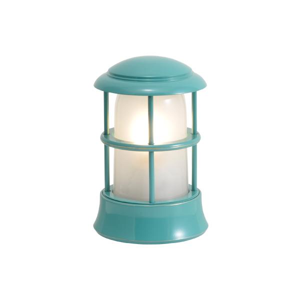 ゴーリキアイランド 真鍮 マリンランプ(くもりガラス&LEDランプ)BH1010MINI FR LE メイグリーン【 アンティーク ブラス 雑貨】 [750120]