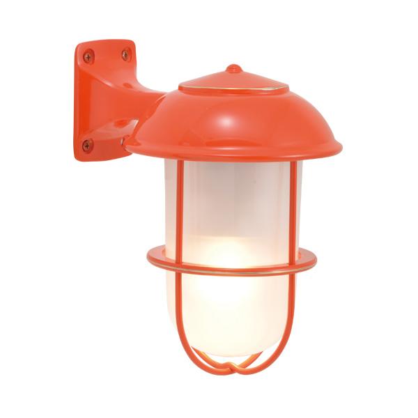 ゴーリキアイランド 真鍮 ブラケットランプ(くもりガラス&LEDランプ)BR5000 FR LE オレンジ【 アンティーク ブラス 雑貨】 [750205]