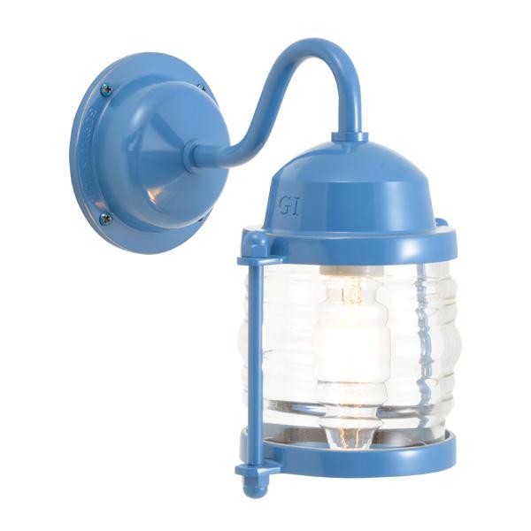 ゴーリキアイランド 真鍮 ブラケットランプ(クリアガラス&普通球)BR1710 CL パシフィックブルー【 アンティーク ブラス 雑貨】 [750218]