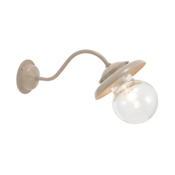 ゴーリキアイランド 真鍮 ブラケットランプ(泡入りガラス&普通球)BT1771 BU ティルトタイプ 軒下用 防滴 アースグレイ [750318]
