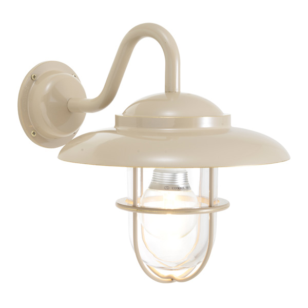ゴーリキアイランド 真鍮 ブラケットランプ(クリアガラス&LEDランプ)BR5060 CL LE アースグレイ【 アンティーク ブラス 雑貨】 [750346]