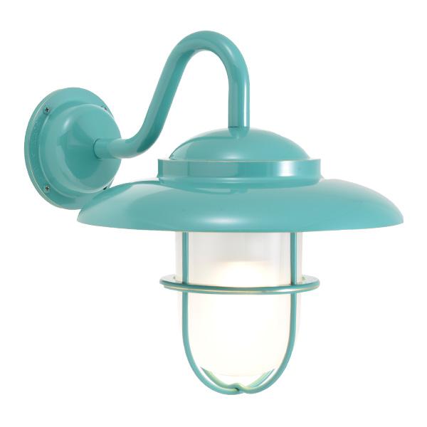 ゴーリキアイランド 真鍮 ブラケットランプ(くもりガラス&LEDランプ)BR5060 FR LE メイグリーン【 アンティーク ブラス 雑貨】 [750352]