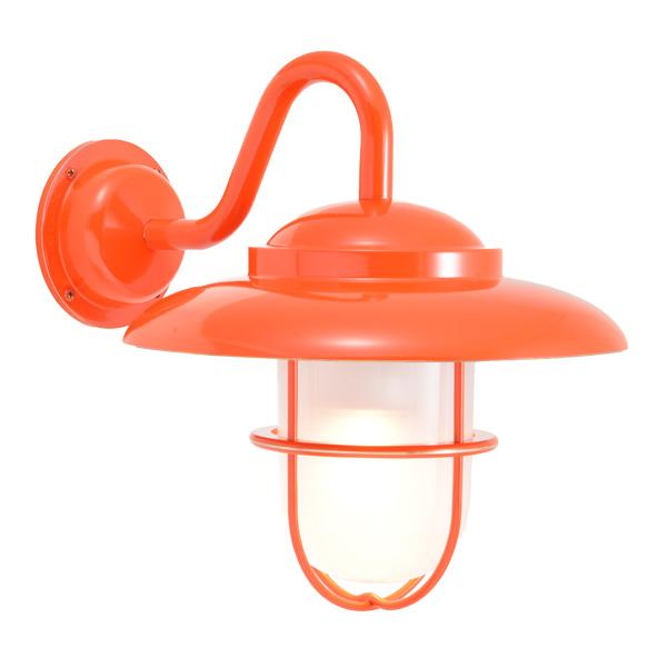 ゴーリキアイランド 真鍮 ブラケットランプ(くもりガラス&LEDランプ)BR5060 FR LE オレンジ【 アンティーク ブラス 雑貨】 [750353]