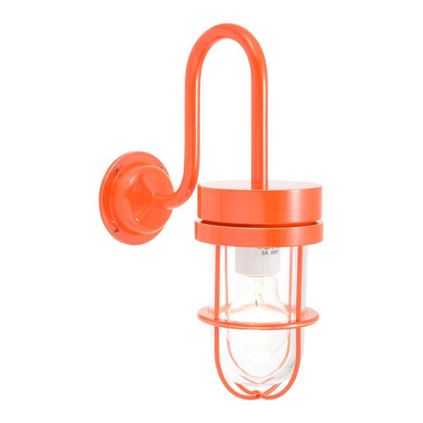 ゴーリキアイランド 真鍮 ブラケットランプ(クリアガラス&普通球)BR6000 CL オレンジ【 アンティーク ブラス 雑貨】 [750362]