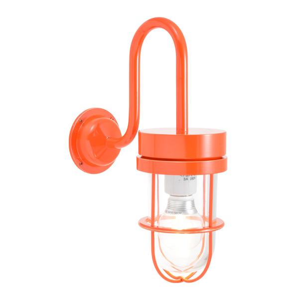 ゴーリキアイランド 真鍮 ブラケットランプ(クリアガラス&LEDランプ)BR6000 CL LE オレンジ【 アンティーク ブラス 雑貨】 [750371]
