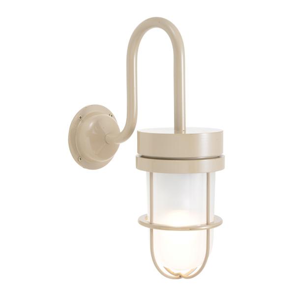 ゴーリキアイランド 真鍮 ブラケットランプ(くもりガラス&LEDランプ)BR6000 FR LE アースグレイ【 アンティーク ブラス 雑貨】 [750378]