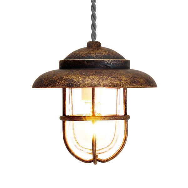 ゴーリキアイランド 真鍮 ペンダントライト(クリアガラス&普通球)PW1760 CL 古色【 アンティーク ブラス 雑貨】 [750465]