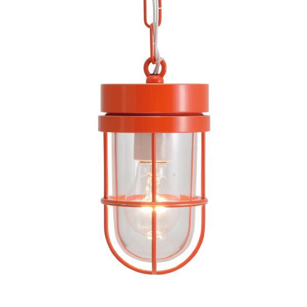 ゴーリキアイランド 真鍮 ペンダントライト(クリアガラス&普通球)P6000 CL オレンジ【 アンティーク ブラス 雑貨】 [750493]