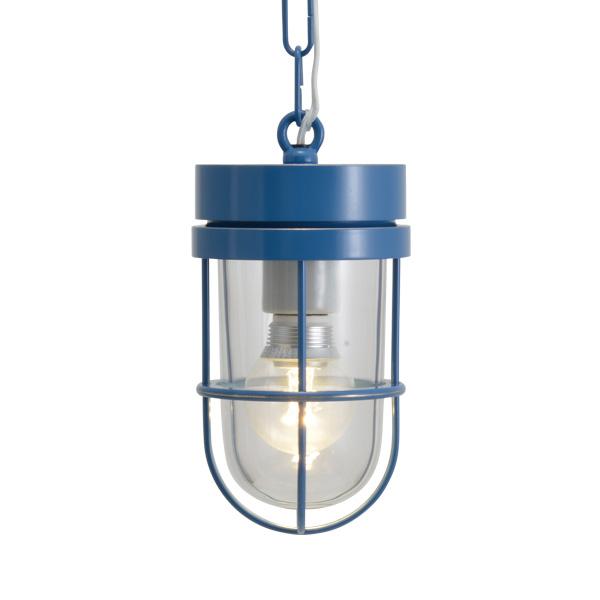 ゴーリキアイランド 真鍮 ペンダントライト(クリアガラス&LEDランプ)P6000 CL LE パシフィックブルー【 アンティーク ブラス 雑貨】 [750495]