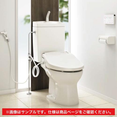 メーカー直送 アサヒ衛陶 簡易水洗トイレ [AF400LR120LI] サンクリーン 手洗無し+壁給水+温水洗浄便座セット