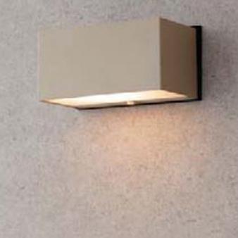 【法人様限定商品】タカショー Takasho HBG-D02G エクスレッズウォールライト 5型 グレイッシュゴールド(電球色) W150×D82×H67 代引き不可
