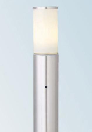 【法人様限定商品】タカショー Takasho HFD-L2SSA シンプルLEDポールライト 6型4Wステンレス照度センサー付 直径102×H604 代引き不可