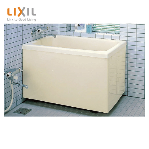 メーカー直送 LIXIL 浴槽 ポリエック [PB-1002BL/L11(左排水) PB-1002BR/L11(右排水)] 1000サイズ 和風タイプ 2方全エプロン