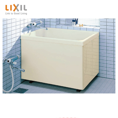 メーカー直送 LIXIL 浴槽 ポリエック [PB-1002B(BF)L(左排水) PB-1002B(BF)R(右排水)] 1000サイズ 和風タイプ 2方全エプロン