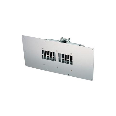 高須産業 レジスター [TF-350] 床下換気扇 単体 アルミパネル