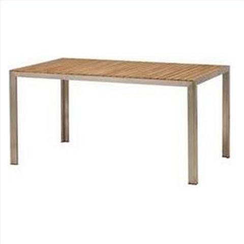 【法人様限定商品】タカショー Takasho TRD-155T ライズ ダイニングテーブル W1505×D900×H730mm、19kg 代引き不可