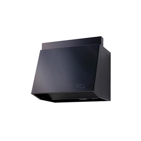 送料無料 高須産業 外部フード [WAP-90A(K)] レンジフード90プロペラ ブラック 風圧式S