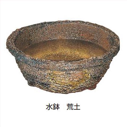 【法人様限定商品】タカショー Takasho WK-19S 水鉢 荒土 直径410×H160mm、約5.4kg 代引き不可