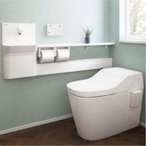 アラウーノ専用手洗い カウンタータイプ 10cm前出しタイプ 小物収納付き [XCH1SMZ] 手動水栓 床排水 壁排水