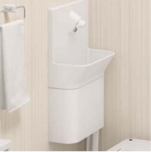 アラウーノ専用手洗い コーナータイプ [CH110TSZKK] 10cm前出しタイプ 床排水 壁排水 手動水栓