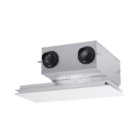 パナソニック 業務用熱交換気ユニット カセット形 [FY-150ZB10] 標準タイプ 風量150(m3/h)