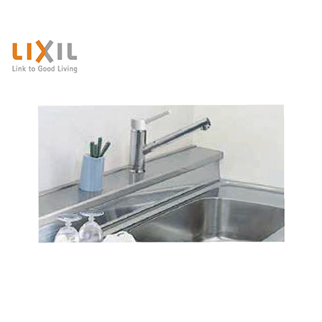 LIXIL INAX 水回り用部材 リクシル 新作通販 格安SALEスタート 水切りカバーアルミ製 奥行6cm W272×D6.3×H5cm ALMC-270SB 間口270cm用