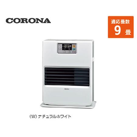 コロナ 寒冷地用大型ストーブ FF温風 [FF-VG35YA(W)] 9畳 暖房器具 ヒーター ストーブ CORONA