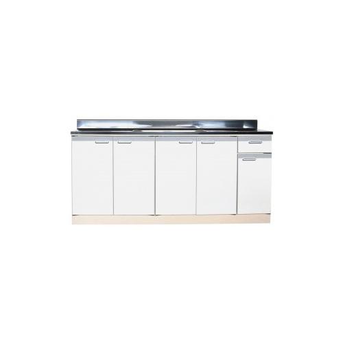 メーカー直送品 法人様限定商品 地域限定 送料無料 セクショナルキッチン 流し台中水槽 Rタイプ [RBN-1700**] ライフ 幅1700 奥行550