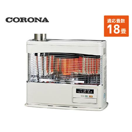 コロナ 寒冷地用大型ストーブ ポット角型 [SV-7018PR(W)] 18畳 暖房器具 ヒーター ストーブ CORONA