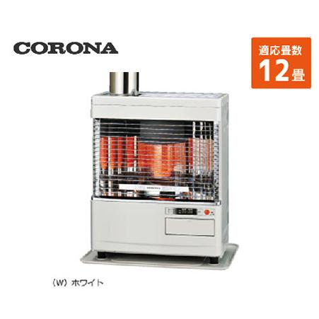 コロナ 寒冷地用大型ストーブ ポット角型 [SV-V4518M(W)] 12畳 暖房器具 ヒーター ストーブ CORONA
