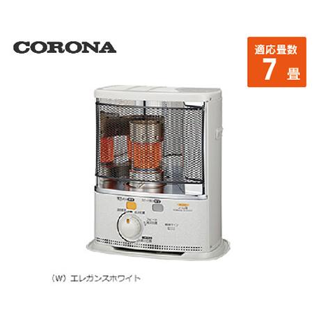コロナ ポータブル石油ストーブ [SX-E2418Y(W)] 7畳 暖房器具 ヒーター ストーブ CORONA