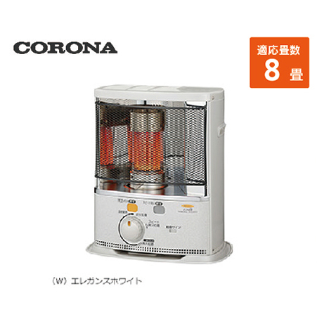 コロナ ポータブル石油ストーブ [SX-E2818Y(W)] 8畳 暖房器具 ヒーター ストーブ CORONA